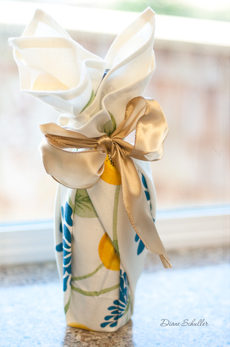 wine wrapping www.dianeschuller.com