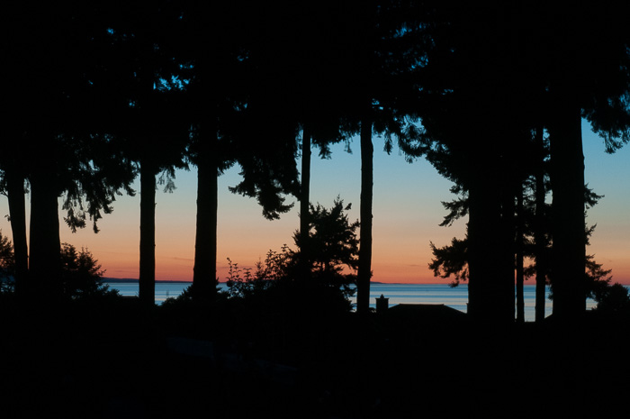 sunset at Qualicum Beach, BC by ©Diane M Schuller