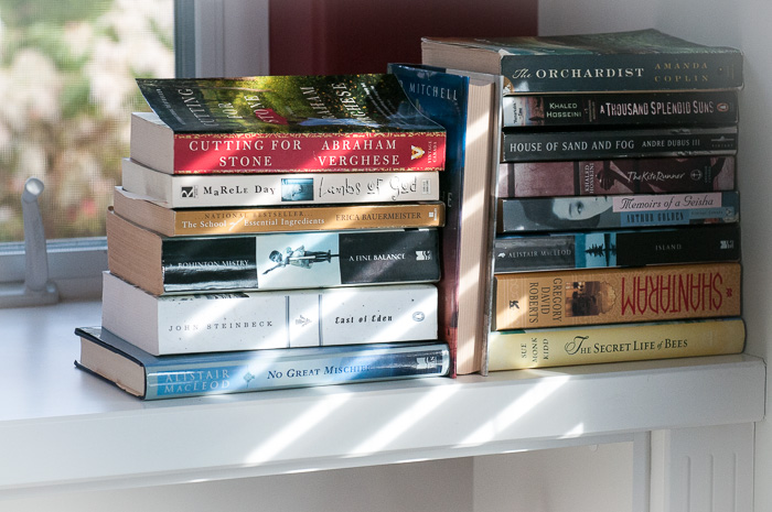 books and shadows