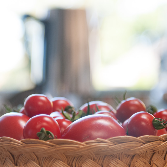 home grown tomatoes ©Diane M Schuller